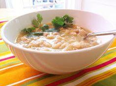 chacha's gluten free kitchen: GF White Chicken Chili with Green Salsa