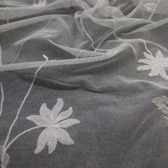 Tulle Coton Brodé Référence 52025GD/125 Largeur 125CM Coloris BNA Jean BRACQ Spring/Summer 2022 Ballet Dance, Dance Shoes, Spring, Tulle, Fashion, Embroidery, Cotton, Dancing Shoes, Moda