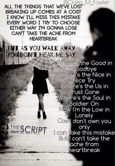 The Script - No Good in goodbye