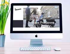 """Check out new work on my @Behance portfolio: """"Vespa Landing Page"""" http://be.net/gallery/35025101/Vespa-Landing-Page"""