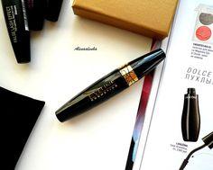 Eveline Cosmetics. Grand Couture Spectacular Lashes Mascara. Black \ Тушь для ресниц. Отзыв, свотчи.
