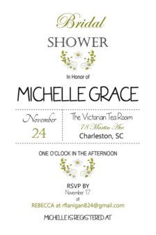 Bridal Shower Invitations & Ideas - Page 13