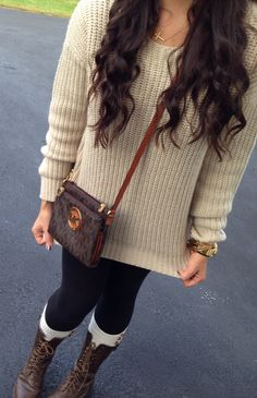 fall outfit #fall #sweater