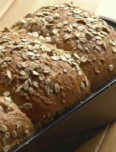 """Steel Cut Oat Bread Recipe. """"This bread has a sweet flavor from the honey and would make a fantastic sandwich bread for lunches or morning toast. If your not a big fan of whole wheat breads give this one a try, it's both nutritious and tastes wonderful.""""  from thekneadforbread.com"""