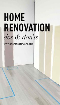Home Renovation Dos and Don'ts After a yearlong renovation in his home, Editorial Director, Decorating Kevin Sharkey is sharing his dos and don'ts for a successful transformation. Read on to benefit from his wisdom and avoid future home headaches. Home Improvement Loans, Home Improvement Projects, Home Projects, Home Renovation Loan, Architecture Renovation, Pallet Bed Frames, Martha Stewart, Home Design Decor, Home Decor