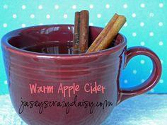 Warm Apple Cider, Pumpkin Pancakes with Buttermilk Caramel Syrup