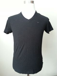 #ebay DIESEL men's deep black v-neck cotton t-shirt size S new with tag withing our EBAY store at  http://stores.ebay.com/esquirestore