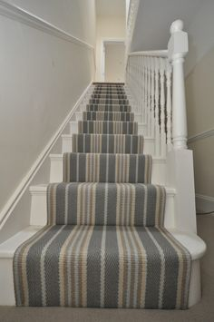 Carpet for Basement Stairs . Carpet for Basement Stairs . How to Carpet Basement Stairs Basement Carpet, Hall Carpet, Basement Stairs, Tile Stairs, House Stairs, Coastal Living Rooms, My Living Room, Staircase Runner, Stair Runners