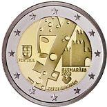 2 euro Guimarães - Capital Europeia da Cultura em 2012 - 2012 - Series: Commemorative 2 euro coins - Portugal