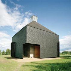Kärsämäki Shingle Church by OOPEAA Office for Peripheral Architecture
