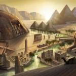 Beautiful Concept art from The Sims 3.