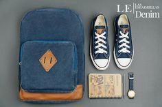 Кеды Las Espadrillas LE38-9697 унисекс (синий) в магазине обуви Kedoff.net  - 18765 67a32508ed09a
