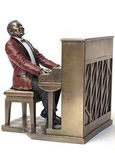 Jazz Musiker Pianist Piano Klavier Figur Kollektion Le Monde Du Jazz