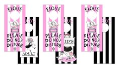 Eloise at the Plaza Door Hangers Set of 3 Double by lolapaperdoll