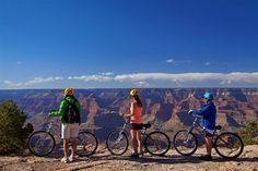 A tour on two wheels is one of the best ways to experience more of the Grand Canyon. Image by Danita Delimont / Getty