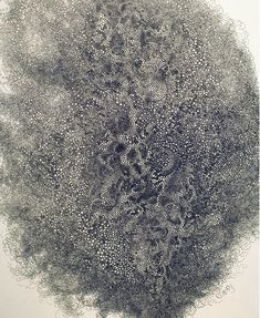 "Hiroyuki Doi's Circular Obsession. ""My challenge, precisely, is how small circles I can draw,"" said Doi, speaking through a translator. Doi's drawings contain thousands of pulsating, clustered orbs, inked with a trusty Pilot pen."