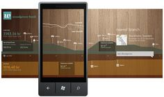Early example of panorama design on my blog at Windows Phone Developer site.