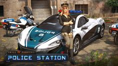 Skill Parking - Police Station is now on Get it! Police Cars, Police Officer, Car Parking, Parking Lot, Amazon Fire Tablet, Android, Learn Faster, Latest Games