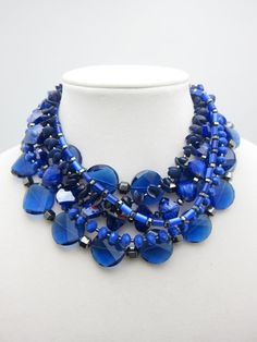 LIFT OFF Statement Necklace www.taralynevans.com #etsy #statementnecklace #taralynevans