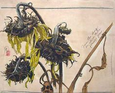 Dirk Hagner's depiction of dying sunflowers won a Juror's Choice Award in the Blossom Art of Flowers competition in 2007.