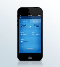 Search Tickets Shot #webdesign #blue