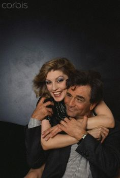 Peter Falk and His Wife Shera Danese