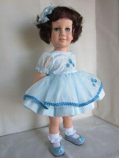 CANADIAN  CHATTY CATHY Brunette Bob TALKS! MINT Chatty Cathy Adoptions #Mattel #DollswithClothingAccessories