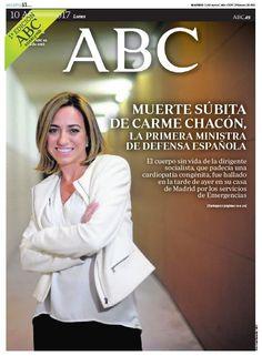 La portada de ABC del lunes 10 de abril