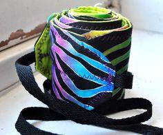 Rainbow Zebra Print Crossfit Wrist Wraps  on Etsy, $17.00