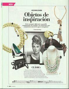 """To Shine® en ViÚ - Revista de  Estilo para la Mujer, con su collar más solicitado: cod. CP0112 """"Audrey""""   Puede comprarse desde 3 unidades al (+51) 952 203 264."""