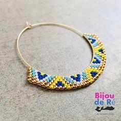 Je crois que je suis piquée à la créole ! #miyukibeads #miyuki #miyukiaddict #creoles #creolestyle #bohemechic #boheme #earings #earing #bijou #bijoux #handmadejewel #bijoufaitmain #couleursdété