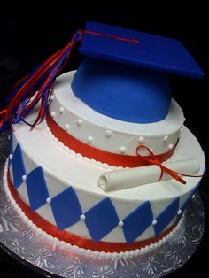 Richland High School Graduation Cake 2012 . Love this cake except it would be for Edwardsburg.