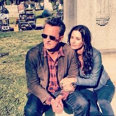 They will always be Monica and Chandler in my eyes :) #reunited