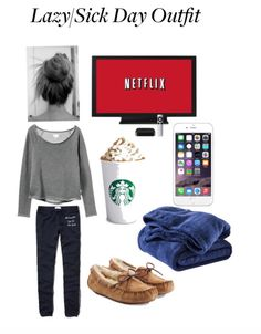 Outfit for a sick or lazy day lazy day outfits, lazy school outfit, school Fall College Outfits, Cute Lazy Outfits, Casual Winter Outfits, Sick Day Outfit, Outfit Of The Day, Lazy School Outfit, Pajama Outfits, Look Cool, Lounge Wear