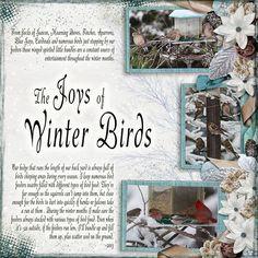 The Joy of Winter Birds - theStudio Gallery