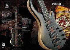 Mayones Guitars & Basses 30th Anniversary 2012 Edition Catalogue - page 30 - Mayones Patriot Series