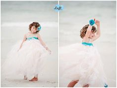 Vintage Lace Flower Girl tulle gown size by KalliAlbaBridal, $240.00