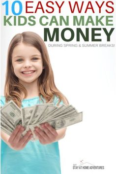 Copy Paste Earn Money - During the spring time kids can make money in so many different ways. Learn how kids can make money over spring break with these ideas. You're copy pasting anyway.Get paid for it. Ways To Earn Money, Earn Money Online, How To Raise Money, Way To Make Money, Earning Money, Money Fast, Money Tips, Spring Break, Spring Time