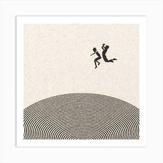 Into The Unknown Art Print by David Schmitt - Fy