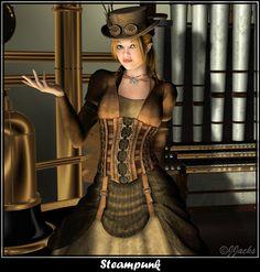 Steampunk by DestinysGarden.deviantart.com on @deviantART