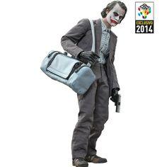 Batman The Dark Knight The Joker Bank Robber Version  2.0 - Hot Toys CCXP