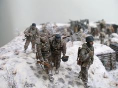 Dioramas and Vignettes: Winter episode of WWII, photo #7