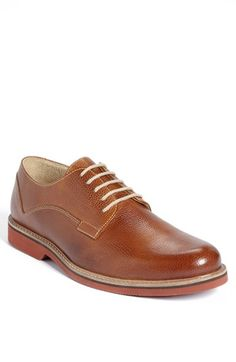 $99, Carson Derby Tan Leather 115 M by 1901. Sold by Nordstrom. Click for more info: http://lookastic.com/men/shop_items/110345/redirect