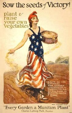 The Victory Garden evolved out of hard times, brought on by War and Economic Distress,  Victory Gardens kept America and American Spirit alive.  It's time again!  Learn the Basics.