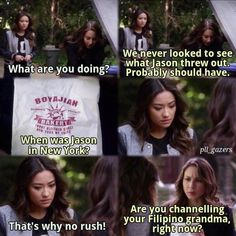 """#PLL 5x04 """"Thrown from the Ride"""" - Hanna, Aria and Spencer"""