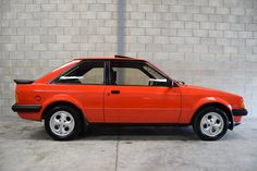eBay: 1982 Ford Escort XR3 5 Speed, Only 30,964 Miles & Just 1 Previous Owner..Superb!