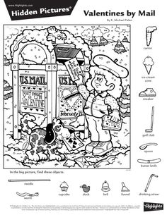 Hidden Object Puzzles, Hidden Picture Puzzles, Hidden Objects, Find Objects, School Coloring Pages, Colouring Pages, Coloring Pages For Kids, Coloring Books, Library Activities