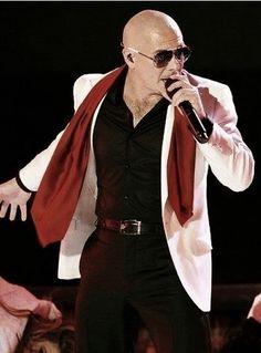 Pitbull Singer Poster for Promotional