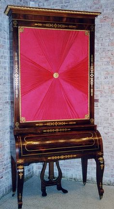 Stodart upright grand piano (c1815), Eddy  Collection by Duke University Musical Instrument Collections, via Flickr