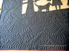 Amy's Free Motion Quilting Adventures: Free Motion Monday Quilting Adventure: Feathers